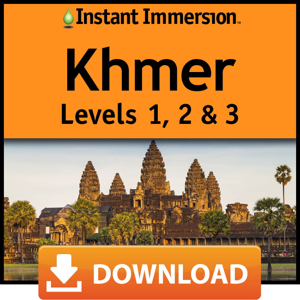 Instant Immersion Levels 1, 2 & 3 Khmer [Online Code] by Eurotalk, Ltd.