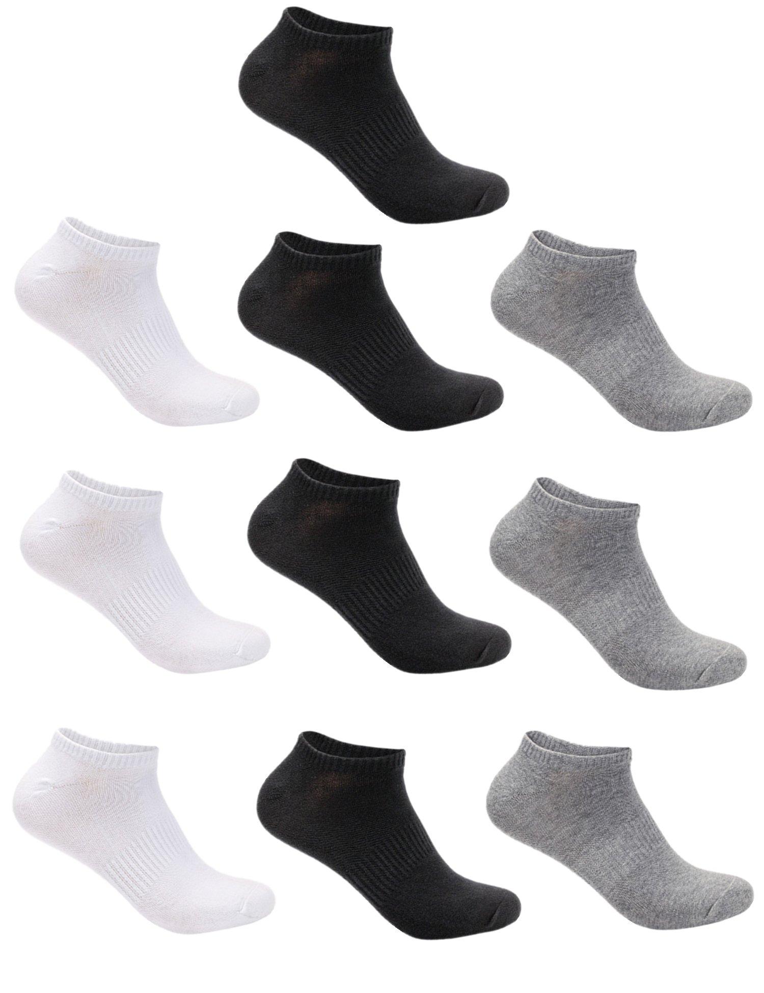 Aibrou 3,6,8,10 pares calcetines hombre Casual Corto o Largo del