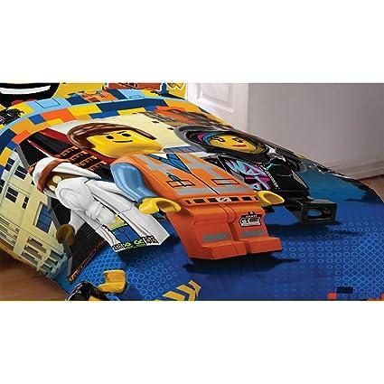 Amazon.com: LEGO The Movie Reversible Bed Comforter (Twin-Full ...