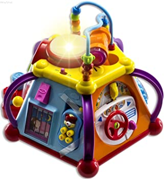 WolVolk Musical Activity Cube For Babies