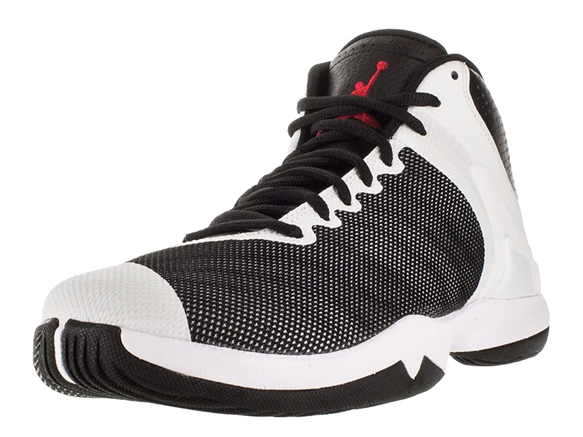 08c4acf496f Amazon.com | NIKE Men's Jordan Super.Fly 4 Po Basketball Shoes, Black/White/Infrared  23/Gym Red, 12 M US | Basketball