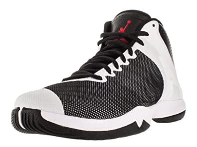 the best attitude c7ba2 58c8f Image Unavailable. Image not available for. Color  Jordan Nike Men s Super. Fly 4 Po Black Gym Red White Basketball