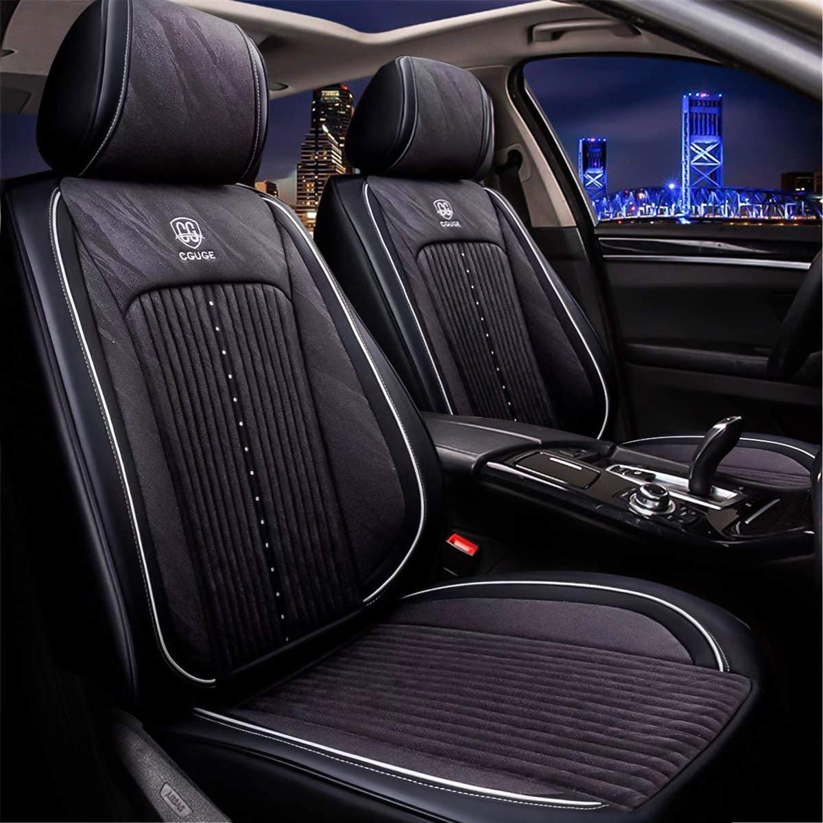 AUDI A6 PREMIUM CAR SEAT COVERS PROTECTORS 100/% WATERPROOF BLACK