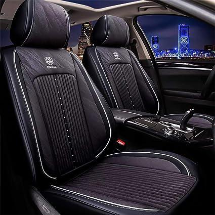 AUDI A8 Premium Protectores De cubiertas de asiento de coche 100/% A Prueba De Agua//Negro