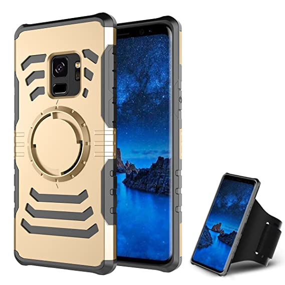 Amazon.com: UBERANT Samsung Galaxy S9 Plus S9+ Case, Dual ...