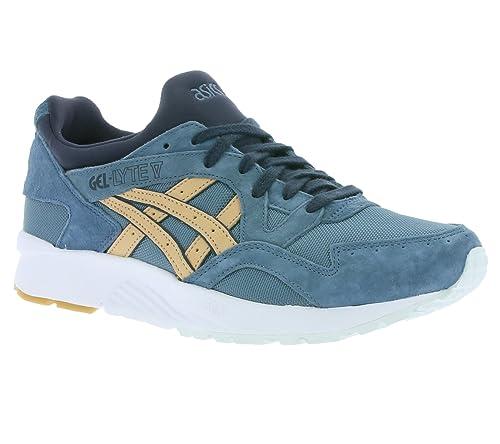 asics Gel Lyte V Hommes Sneaker Bleu H6Q3N 4605: