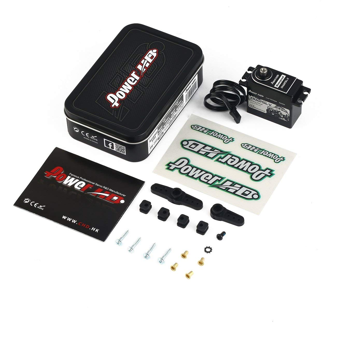 Power HD DW-25LV Wasserdicht 25kg Metal Gear Digital Servo für 1/10 RC Auto Boot Jiobapiongxin