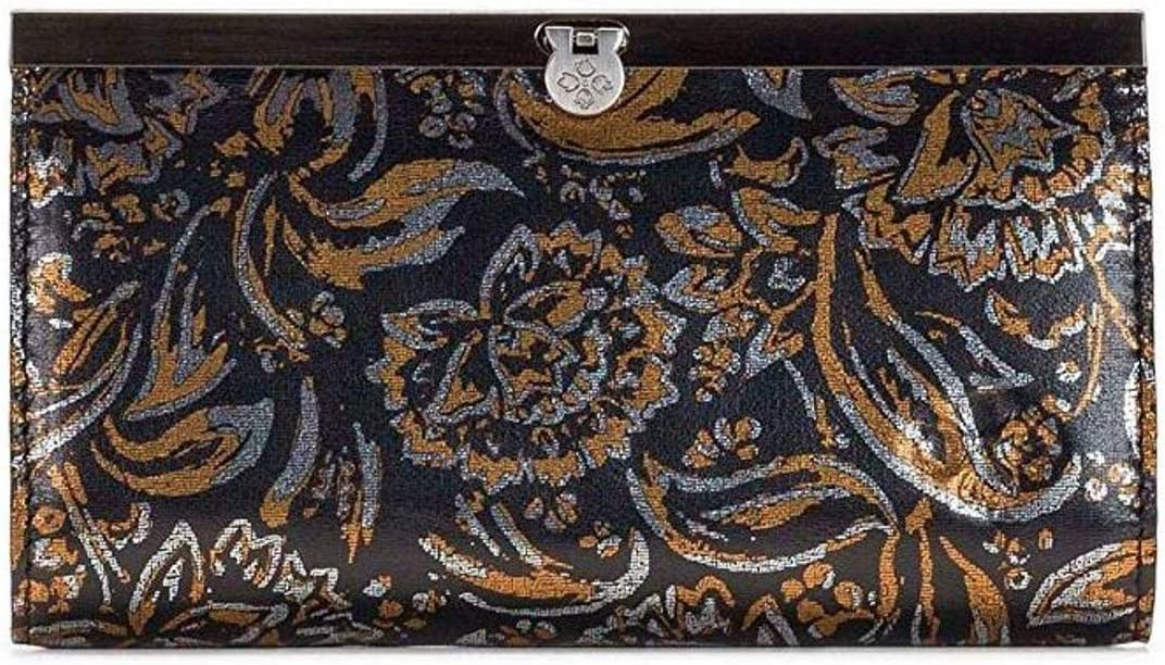 Patricia Nash Cauchy Wallet Tri-Metallic Print One Size