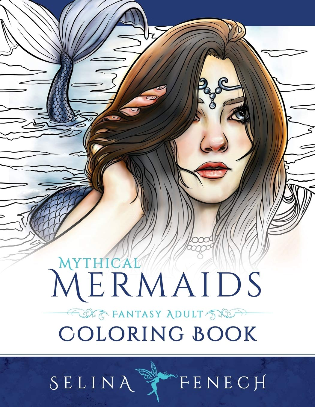Top 8 Best Adult and Childrens Mermaid Colouring Books 4