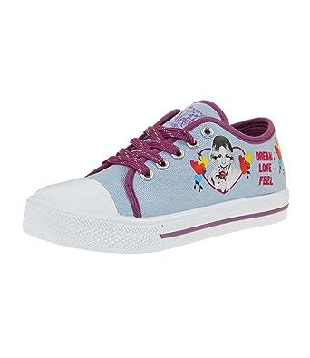 Disney Violetta Mädchen Sneaker blau 32: