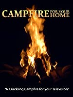 Campfire for your Home - Night Time by the River