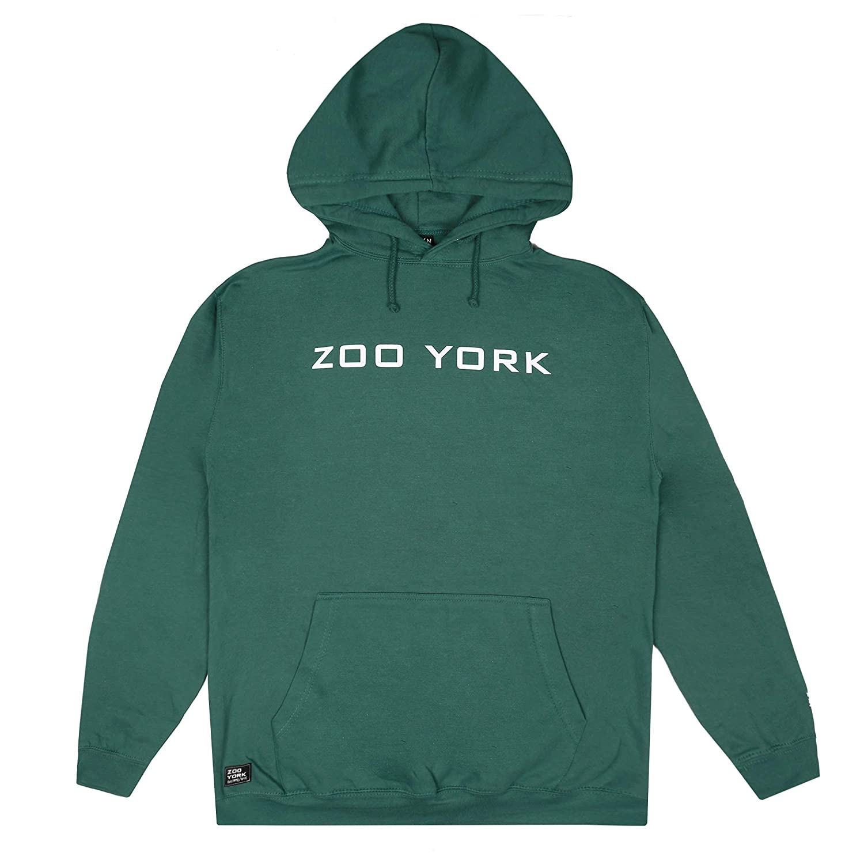 Zoo York Herren Bank Logo Hood Kapuzenpullover, Black, Small