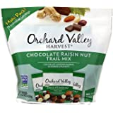 Orchard Valley Harvest Snack Packs - Chocolate Raisin Nut Mix - 15 Ct. Mix Multi Pack Trail Mix, Mixed Nuts, Non-GMO Project