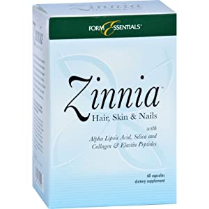 2Pack! Zinnia Hair Skin and Nails - 60 Capsules