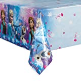 "Disney Frozen Plastic Tablecloth, 84"" x"