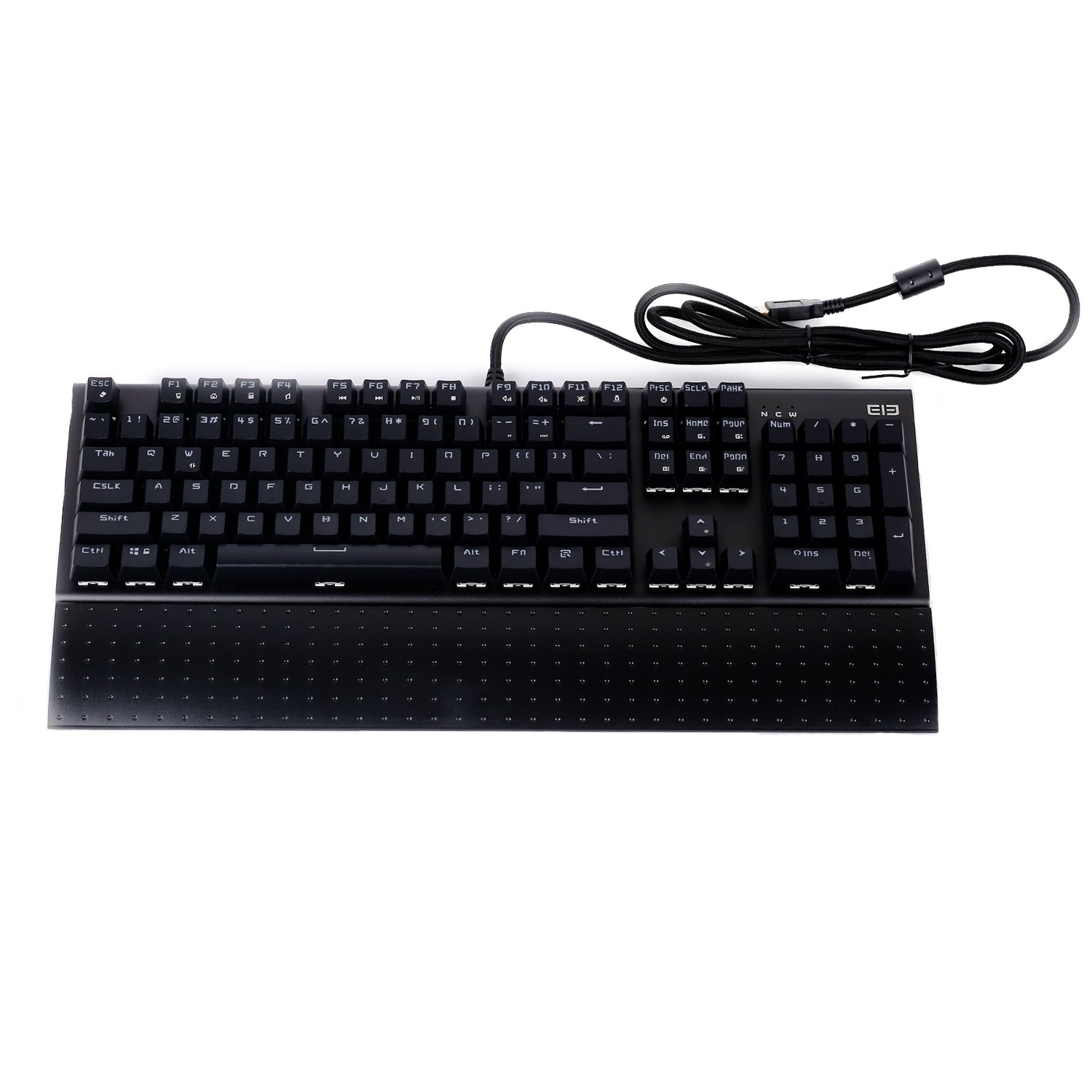 Amazon mechanical keyboard - Amazon Com Mechanical Keyboard Ele Eleenter Game1 Anti Ghosting Keyboards 104 Keys Metal Gaming Keyboards Computers Accessories
