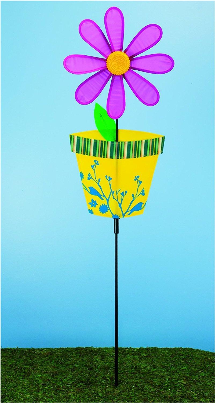Flower in Spinner卸売ロット Pot Garden B01MTFWCJ8 Spinner卸売ロット Garden B01MTFWCJ8, テクノ環境機器:0fee5f6c --- artmozg.com