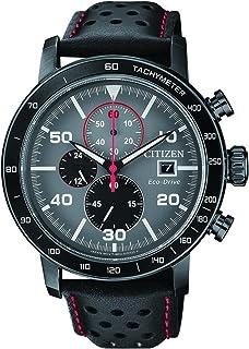 f154755bf9f4 Citizen Reloj Cronógrafo para Hombre de Cuarzo con Correa en Cuero  CA0645-15H