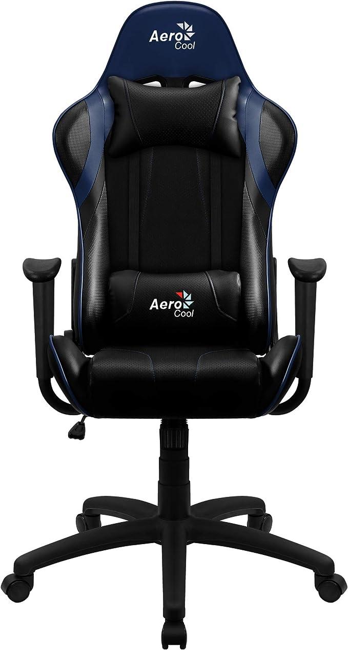 Aerocool AC100 Silla Gaming tecnología Air, reclinable, cojín ...