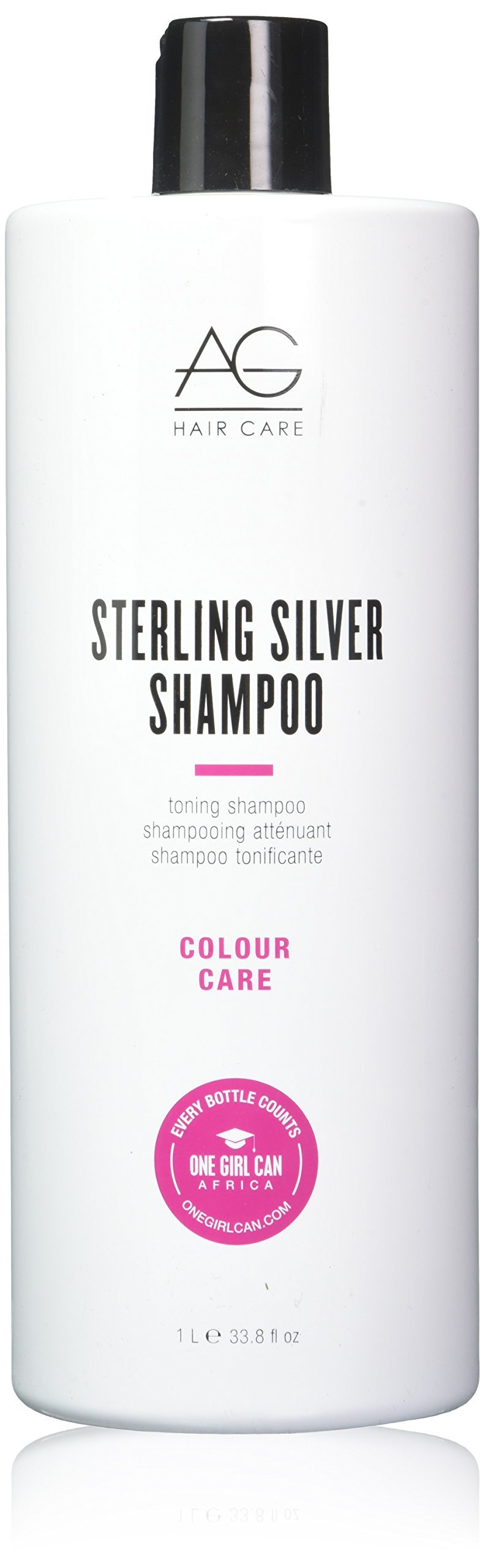 AG Hair Sterling Silver Toning Shampoo, 33.8 Ounce by AG