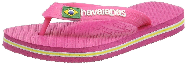 Hawaïenne Logo Brésil, Chanclas Unisexe, Rose (rose Orchidée 2655), 41/42 I (39/40 Brazilian)