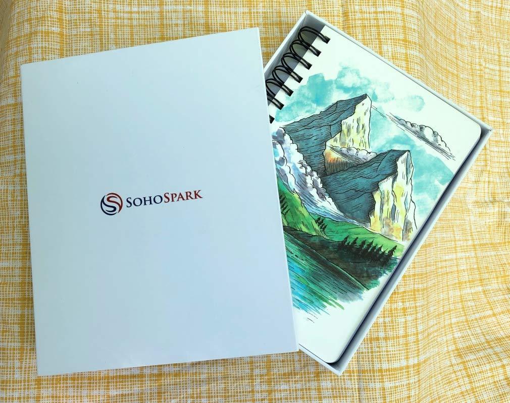 Amazon.com: SohoSpark - Agenda de espiral: Office Products