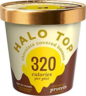 product image for Halo Top, Chocolate Covered Banana Ice Cream, Pint (4 Count)