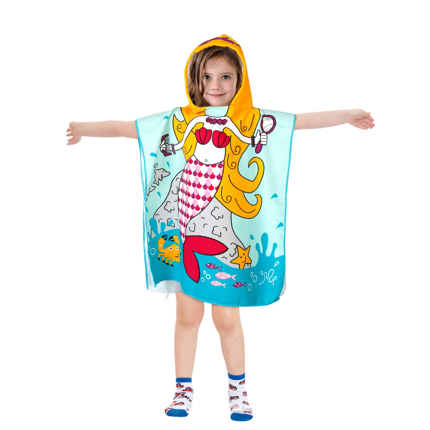Akamino Children Hooded Bath Towel