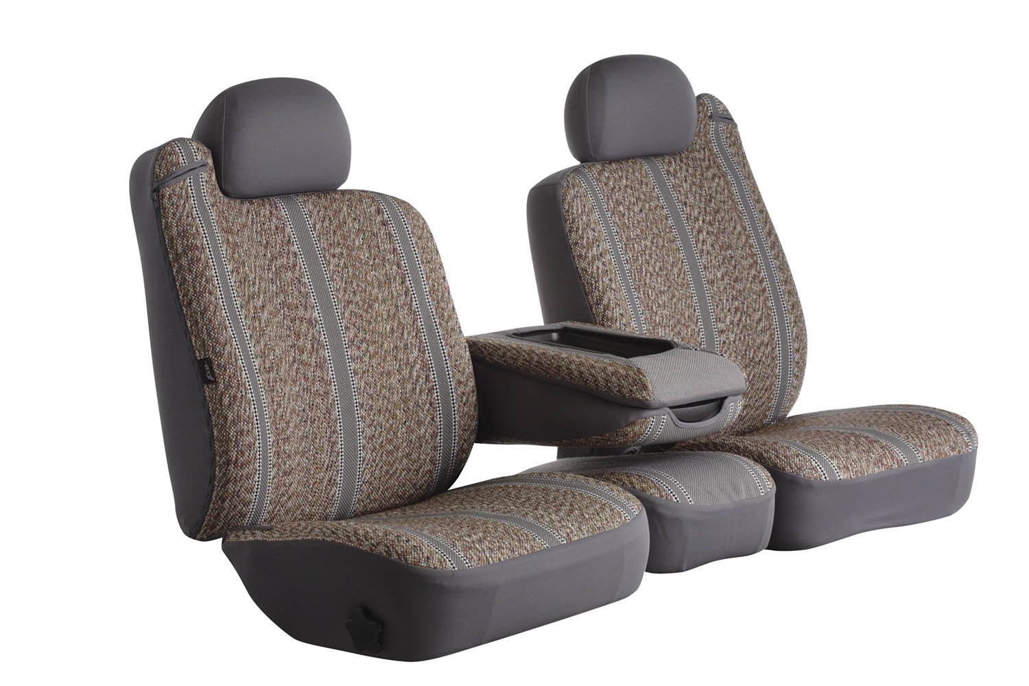 Gray Fia TR47-33 GRAY Custom Fit Front Seat Cover Split Seat 40//20//40 Saddle Blanket,