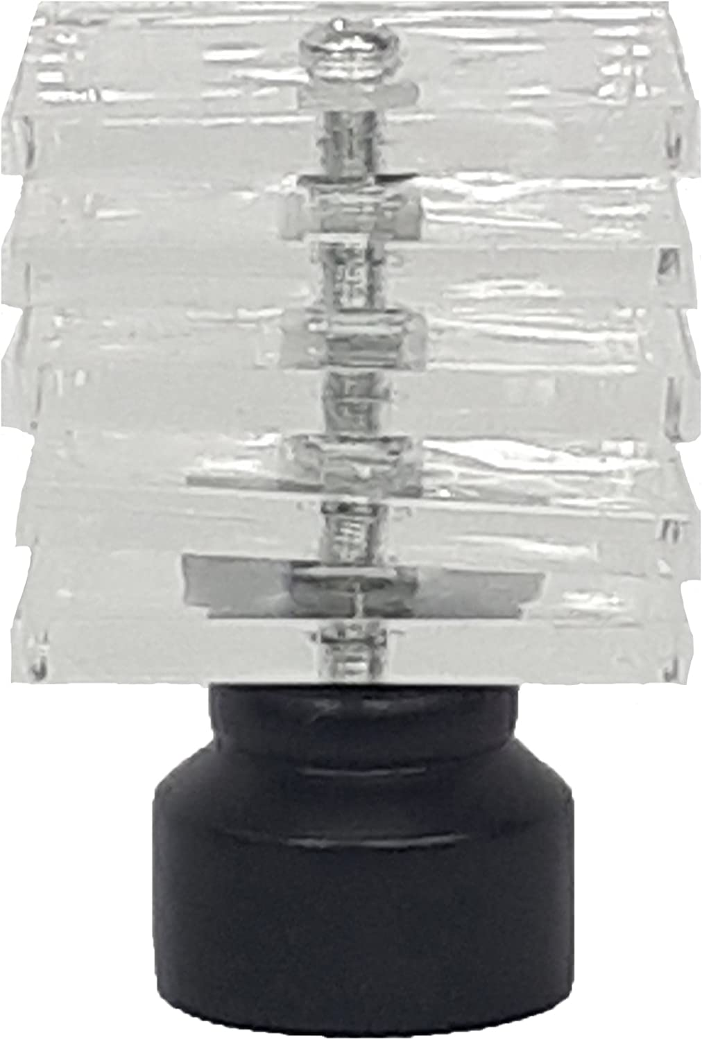 Harmony Home 28mm Curtain Pole Ends Finials Pack Of 2 Available in Silver and Black Silver, Ball