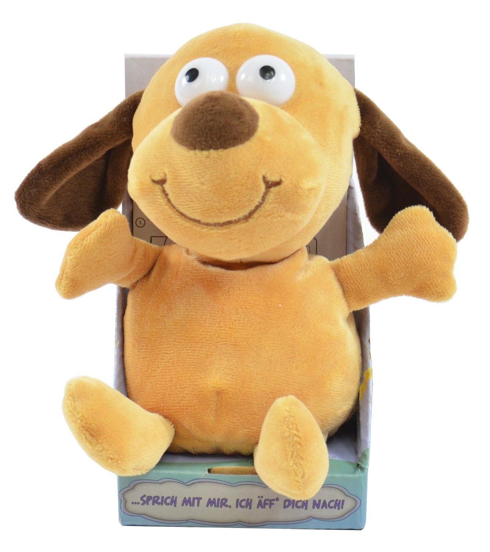 Kögler 75570 - Laber-Hund, der alles nachplappert-Plüsch Winfried Kögler Hunde