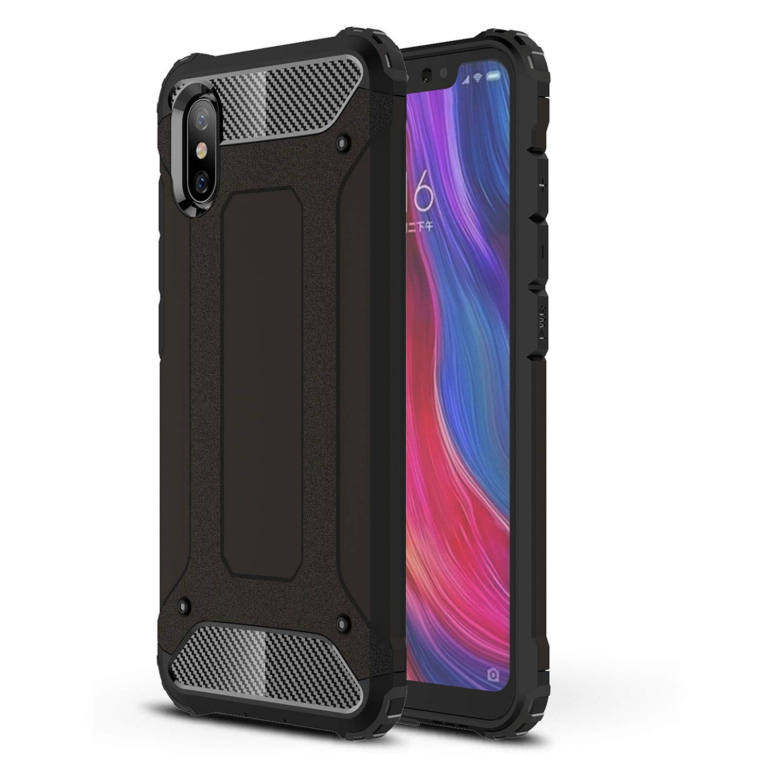 the latest 3d73f 8d5bf Amazon.com: Olixar Delta Armour Protective Case Compatible with ...