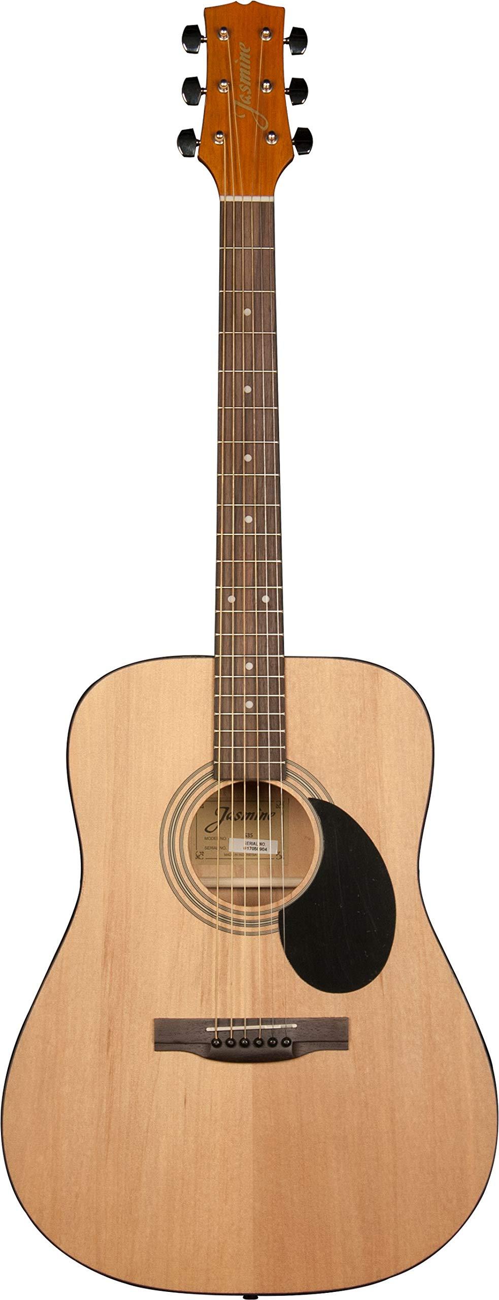 Jasmine S35 Acoustic Guitar, Natural by Jasmine