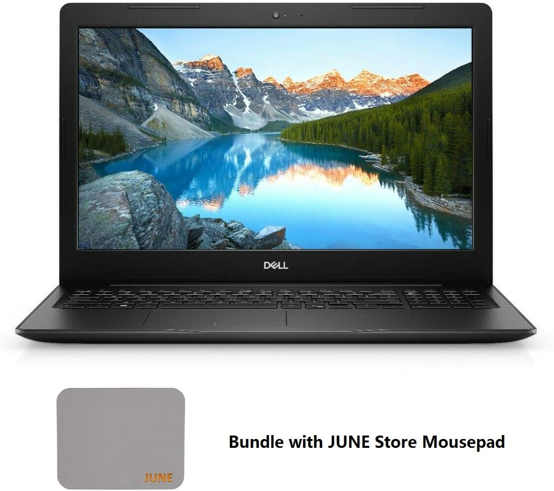 "2020 Newest Dell Inspiron 3000 PC Laptop: 15.6"" HD Anti-Glare LED-Backlit Non-Touch Display, Intel Core 4205U, 12GB RAM, 1TB HDD , WiFi, Bluetooth, HDMI, Webcam, MaxxAudio, DVD, Win 10, June Mousepad"