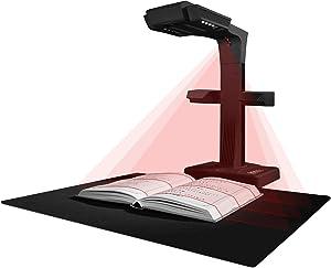 CZUR ET18 Pro Professional Document Scanner, 2nd Gen Auto-Flatten & Deskew Tech, 18MP Sony Camera, Capture A3, 186 Languages OCR, Convert to PDF/Searchable PDF/Word/Tiff/Excel, Run On Windows & MacOS