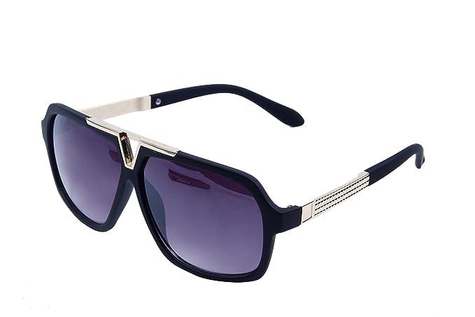 e412877e196 Qwerty Black And Golden Wayfarer Square Badshah Sunglasses For Men ...