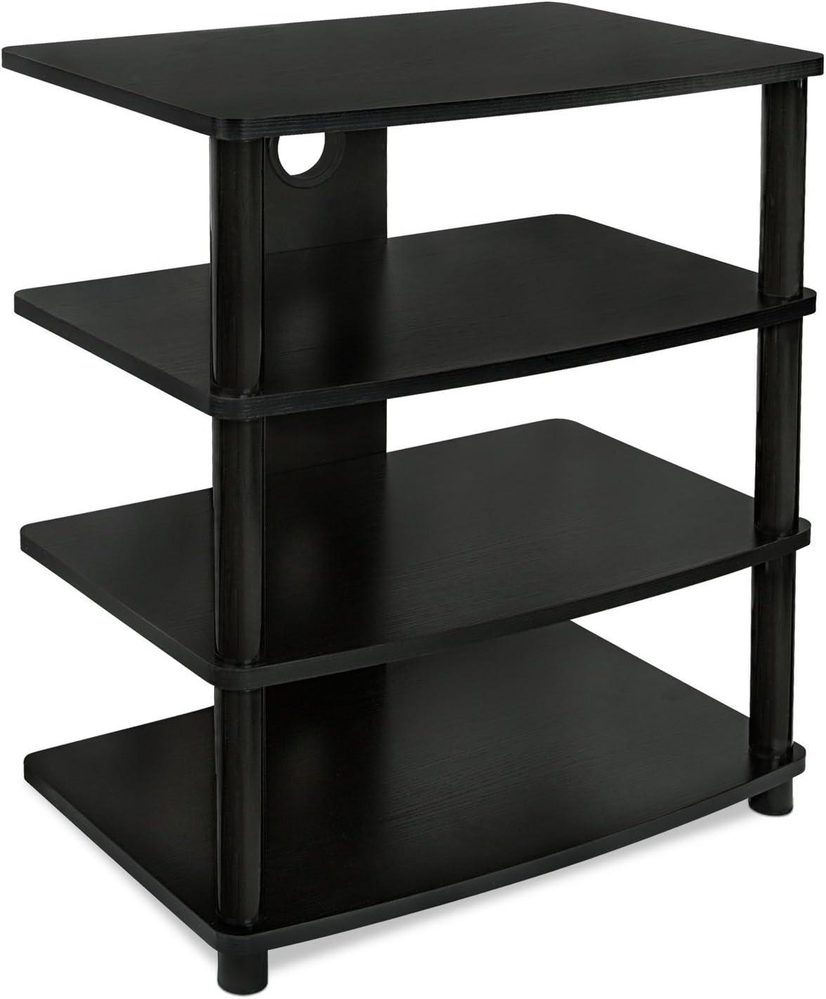 audio video shelving amazon com rh amazon com TV Wall Mounts with Shelves Wall Mount TV Component Shelf