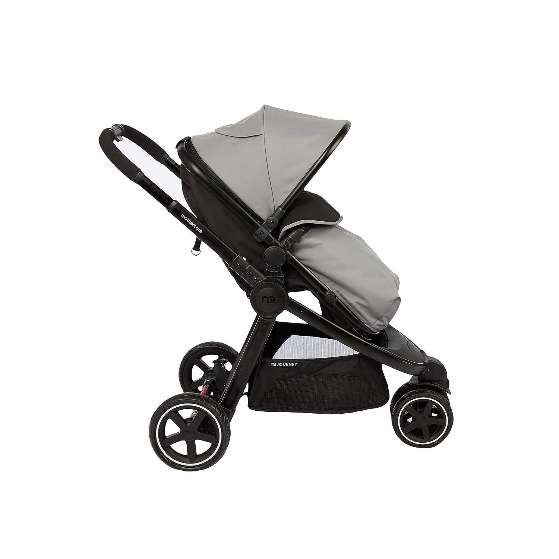 Mothercare 3-Wheel Journey Chrome Travel System Black