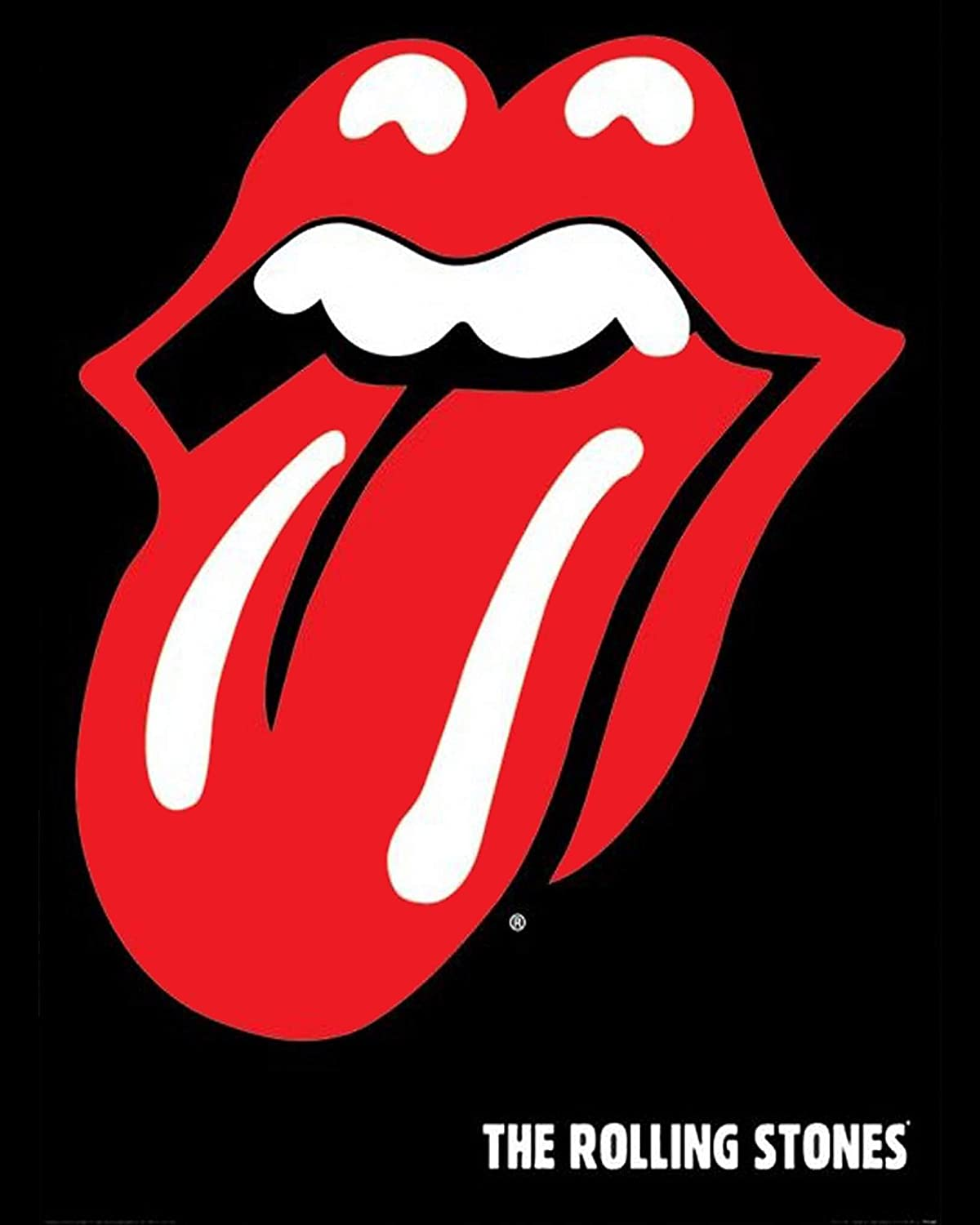 Amazon com: The Rolling Stones Band- Poster Print
