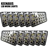 Dot Approved 4X6 Inch Sealed Beam Led Headlights Rectangular Replacement for H4651 H4652 H4656 H4666 H6545 Peterbil Kenworth