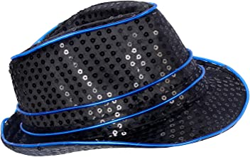 U LOOK UGLY TODAY LED Light Up Cowboy Hat 3a2200729a20