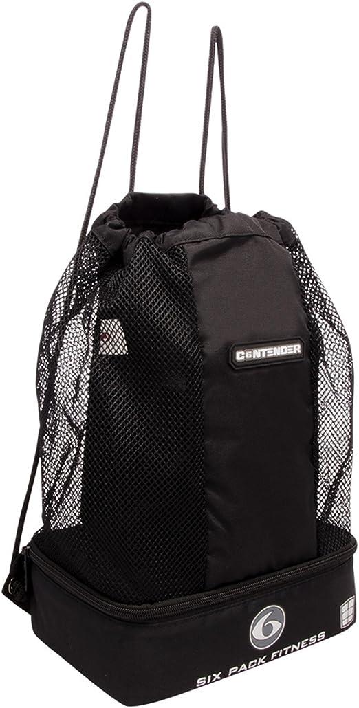 6 Pack Fitness Contender, Stealth, pequeño: Amazon.es: Deportes y ...