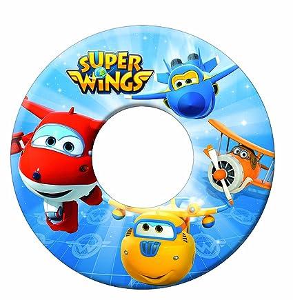 GIM Nickelodeon Super Wings Flotador Hinchable bajo Licencia, 872 – 85110, ...