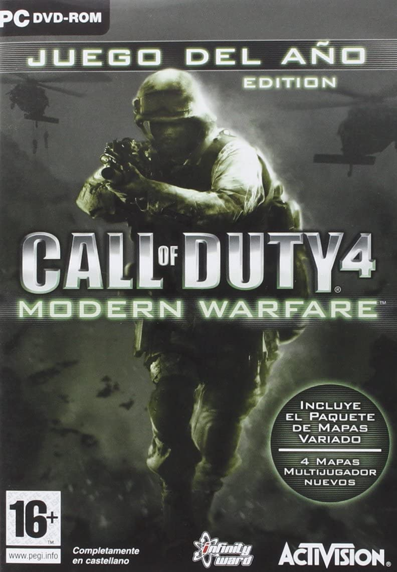 Call Of Duty 4:Modern Warfare/Pc: Amazon.es: Videojuegos