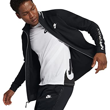 Nike Air Max Sportswear Mens Jacket BlackWhite at Amazon