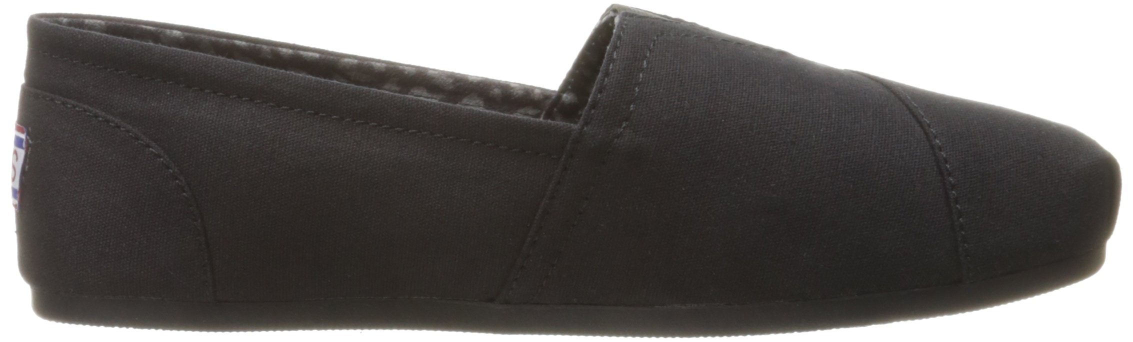 Skechers BOBS from Women's Plush - Peace and Love Flat, Black, 9.5 W US by Skechers (Image #7)