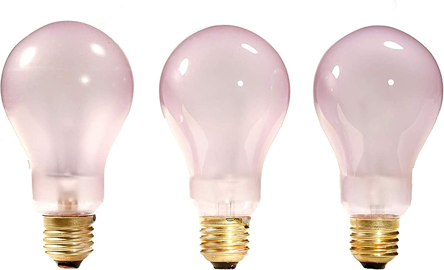Promolux A21 Incandescent Bulb • Teflon Coated Shatter Resistant • Ideal for Hot Food Display Cases • Box of 20