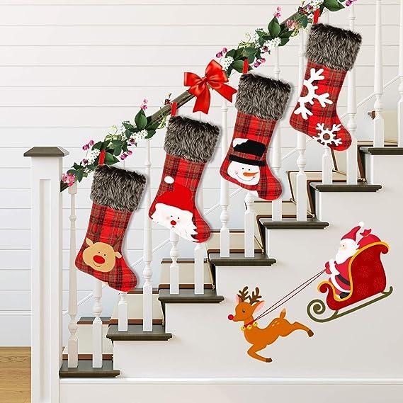 Bnwt Neuf Noël Chaussettes gris /& rose avec Noël Jumpers UK 4-8 EU 37-42