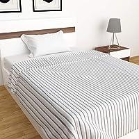 Home Centre Viel Striped Single Bed Throw - 180 X 130 cm