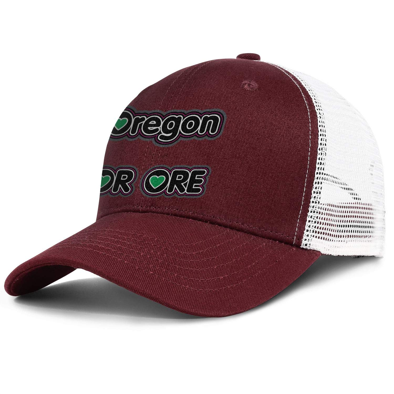 Oregon OR ORE Men//Women Style Hip Hop Cap Baseball Cap